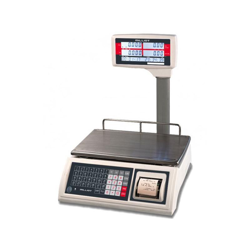 Balance poids prix avec ticket homologuée