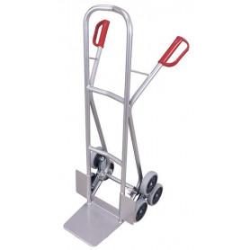 330~Taczka aluminiowa do transportu po schodach dwa 3-ramienne wience kól