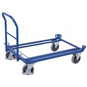 411~Barre de poussée mobile pour chariot porte-palettes