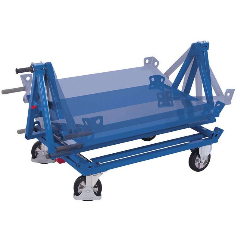413~Support basculant pour chariot porte-palettes
