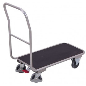 51~Chariot magasin en aluminium