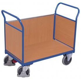 54~Chariot 3 panneaux bois
