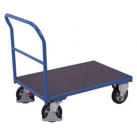 60~Chariot à dossier tubulaire avec contre-plaque étanche
