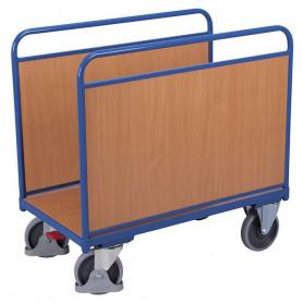 75~Chariot à arceaux avec panneaux bois