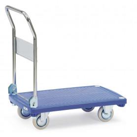 Chariots à plateaux plastiques
