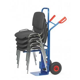 Diables porte-chaises