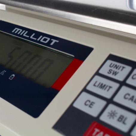 Balance compacte , portée max 30 kg , précision 0,1 à 0,5 g