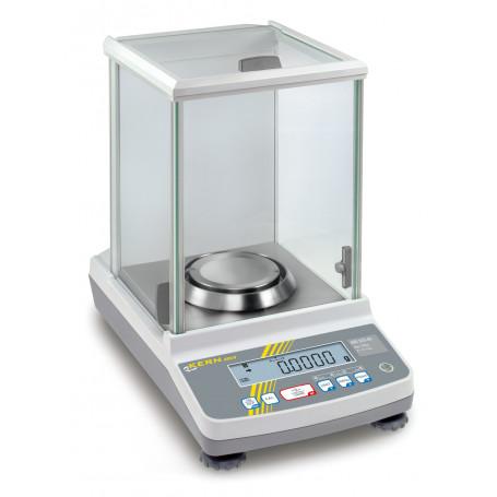 Balance de laboratoire homologable avec programme de calibration, portée max 82 g à 320 g , précision 0,1 mg