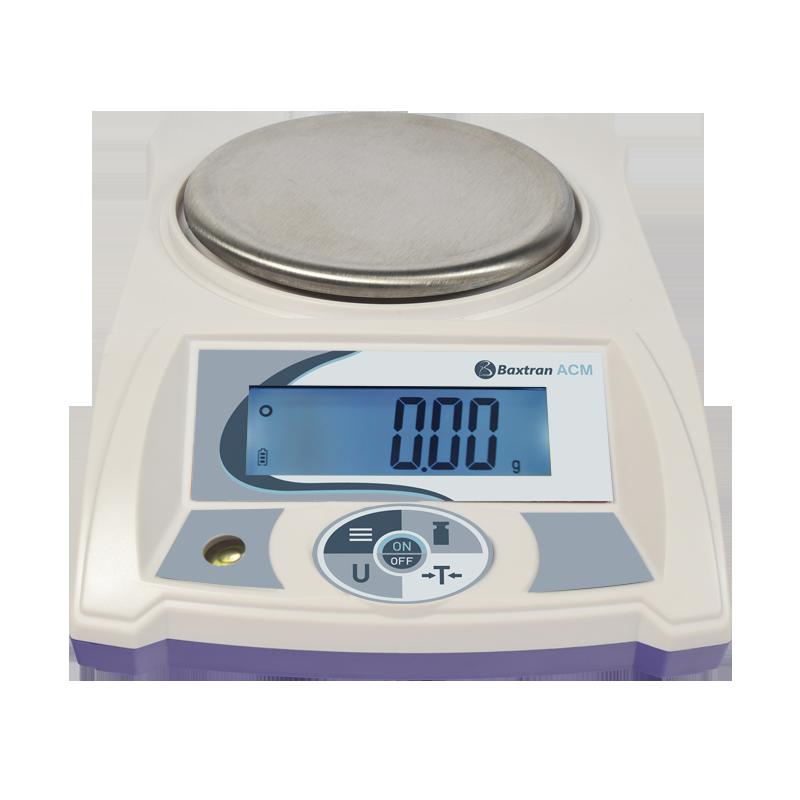 Balance de précision avec écran LCD, portée max. de 200 g à 6 kg, précision de 0,01 g à 0,1 g