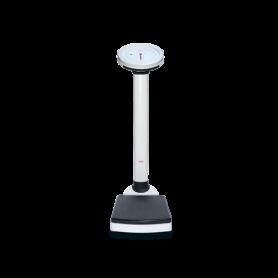 Balance pèse-personne à colonne mécanique, portée max. 150 kg, précision 500 g