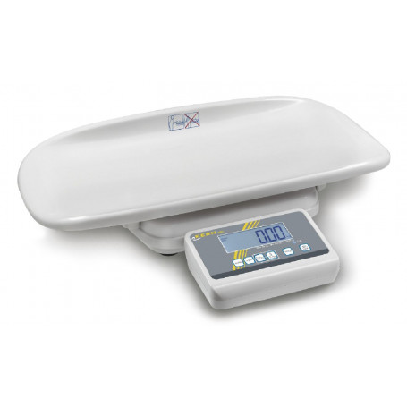 Balance électronique pèse-bébé, portée max. 20 kg, précision 10 g