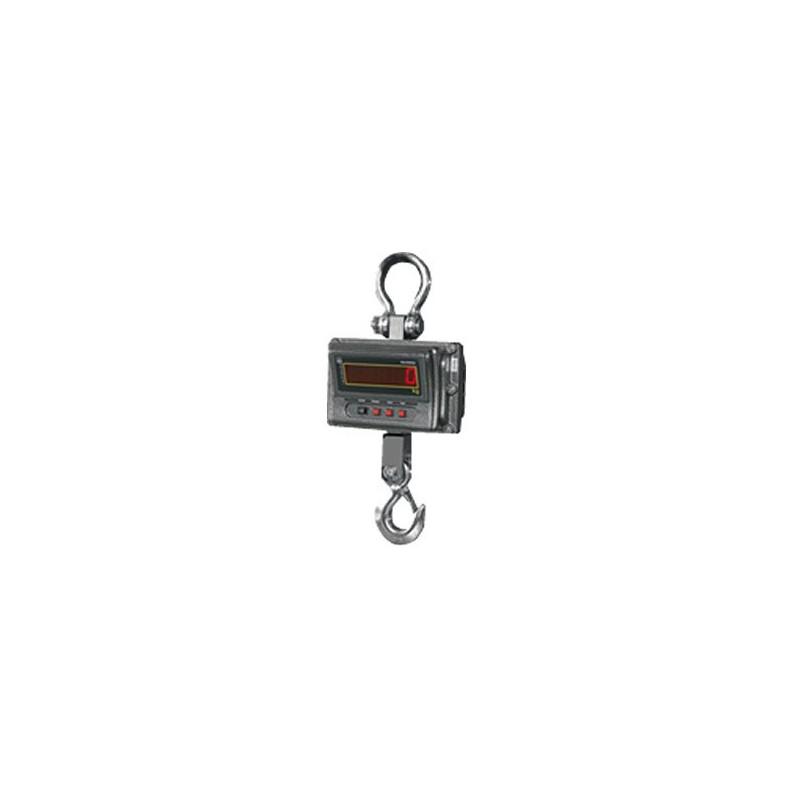 Peson Dynamomètre/Crochet peseur, portée max. de 3 à 10 t, précision de 500 g à 5 kg