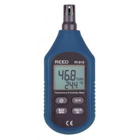 REED R1910 Compteur de température & d'humidité