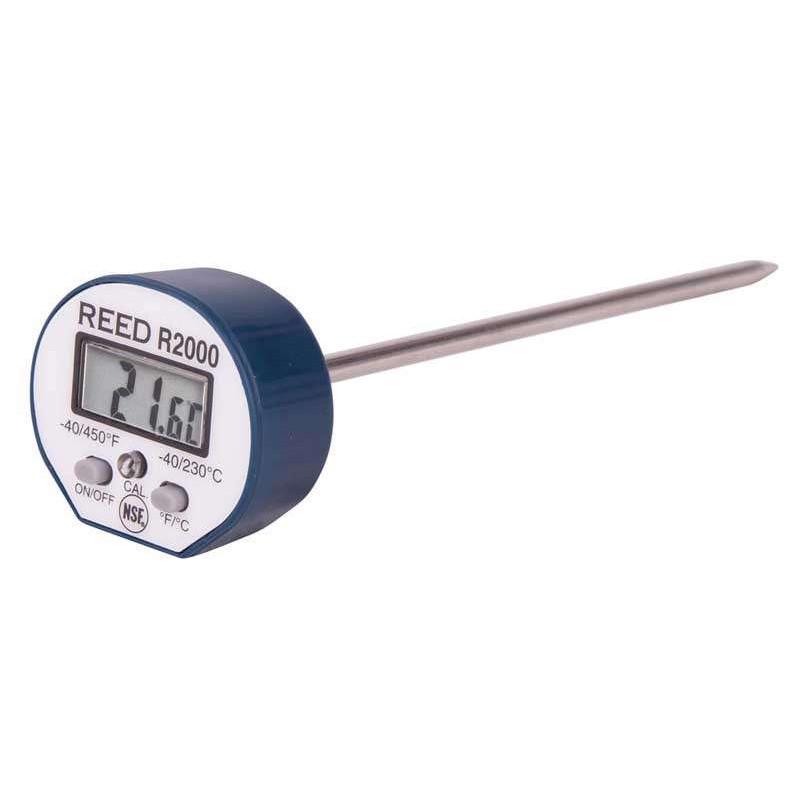 REED R2000 Thermomètre numérique à tige