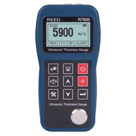 REED R7900 Jauge d'épaisseur ultrasonique, 400mm (15.7 po)