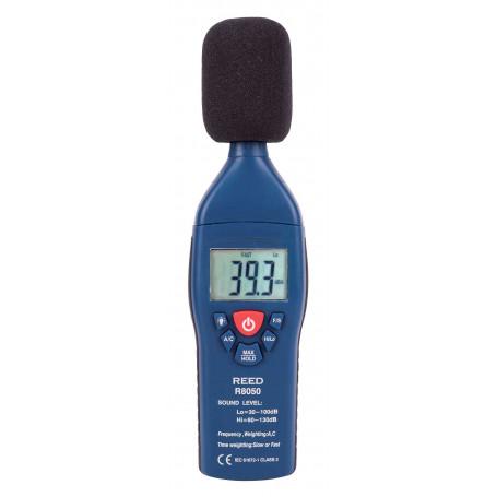 REED R8050 Sonomètre, type 2, 30 à 130 dB