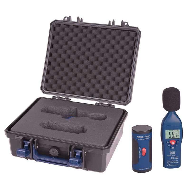 REED R8050-KIT Ensemble de sonomètre et calibrateur