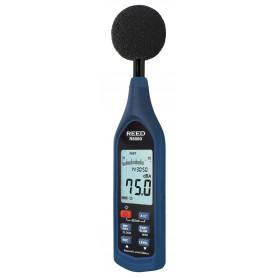 REED R8080 Sonomètre, enregistreur de données et diagramme à barres, 30 à 130 dB