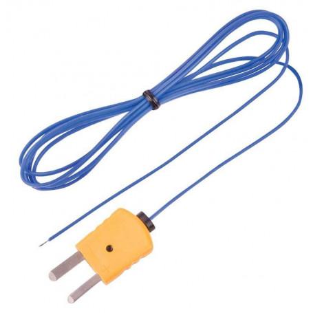 REED TP-01 Sonde à fil thermocouple perlé, type K, -40 à 250C (-40 à 482F)