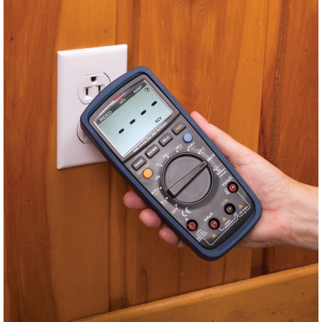 REED R5007 Multimètre numérique v.e.v. avec détecteur de tension sans contact