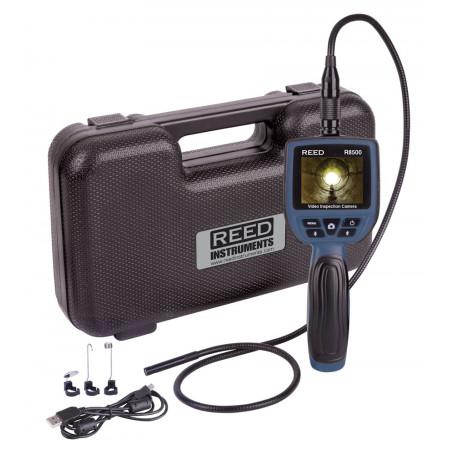 REED R8500 Caméra d'inspection endoscope vidéo 9mm, enregistrable