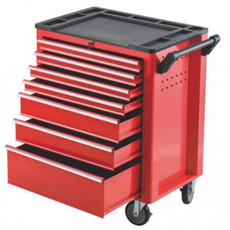 Servante d'atelier vide à 7 tiroirs - charge 210 kg