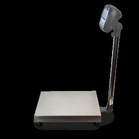 Pèse-colis homologuée, portée max. de 60 à 300kg, précision de 20 à 100g