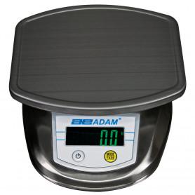 Balance de préparation inox, portée max. jusqu'à 8 kg, précision 0,1 g à 1 g