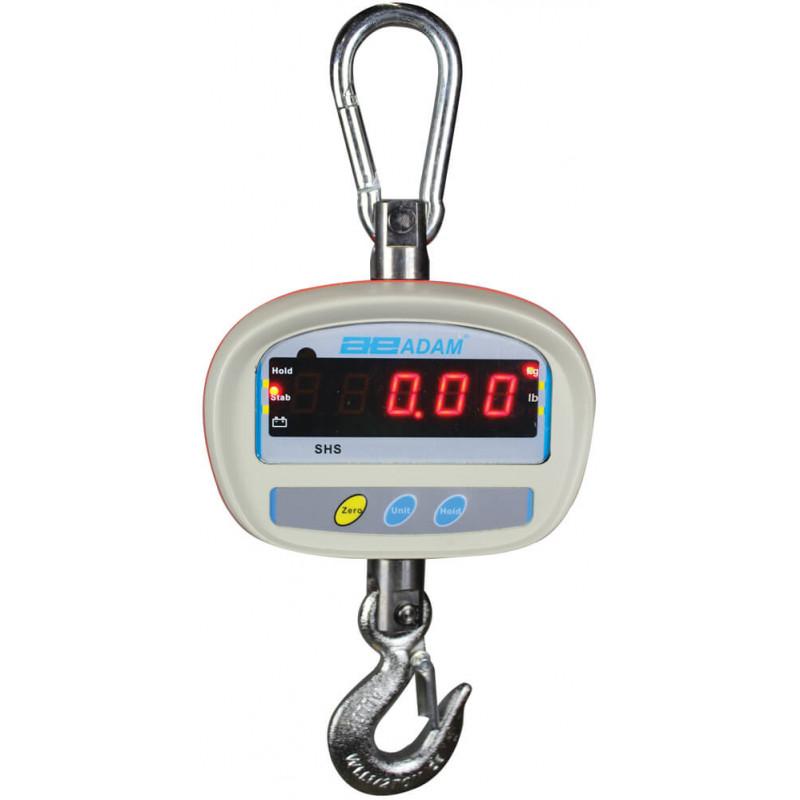 Peson Dynamomètre/Crochet peseur, portée max. de 50 à 300 kg, précision de 10 à 50 g