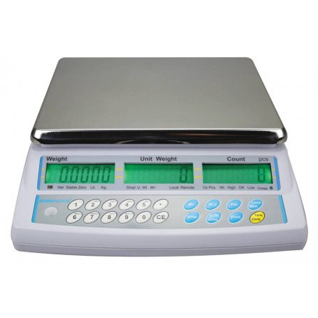 Balance compteuse, portée max. de 4 à 48 kg, précision de 0,1 à 2 g