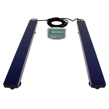 Barres Peseuses Adam AELP-GK, portée max de 1000 à 2000 kg, précision 200 à 500 g.