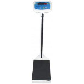 Balance pèse-personne à colonne, portée max. 250 kg, précision 100 g