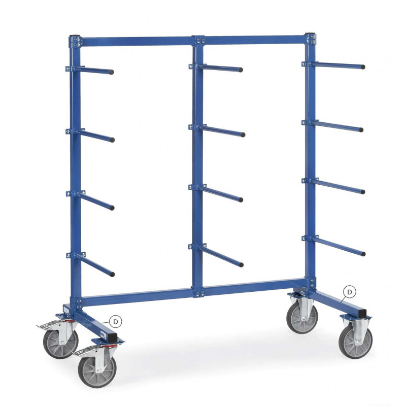 Support de roues pour chariots