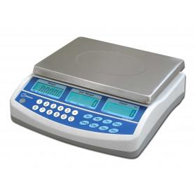 Balance compteuse compacte, portée de 3 kg à 30 kg, précision de 0.1 g à 0.5 g