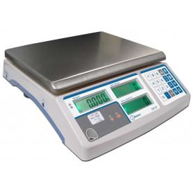 Balance compteuse compacte, portée de 3 kg à 30 kg, précision de 0.1 g à 1 g