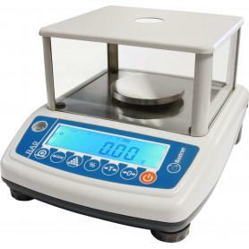 Balance de précision, portée de 300 g à 6000 g, précision de 0.001 g à 0.1 g