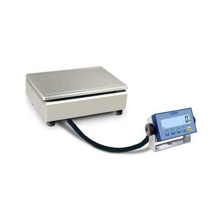 Balance compacte inox, portée 6 kg à 30 kg, précision de 2 g à 10 g