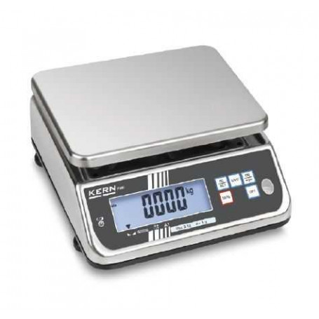 Balance compacte inox, balance inox, portée max. de 3 kg à 30 kg
