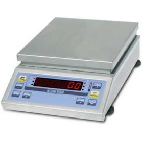 Balance compacte inox, portée de 2 kg à 12 kg, précision de 0.1 g à 2 g