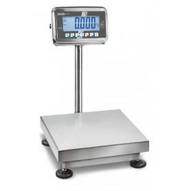 Balance inox avec colonne, portée max. de 10 kg à 120 kg, précision de 1 g à 50 g
