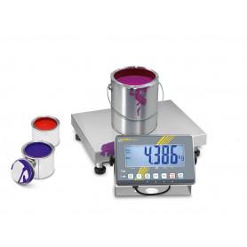 Balance industrielle, portée de 3 kg à 300 kg, précision de 1 g à 100 g