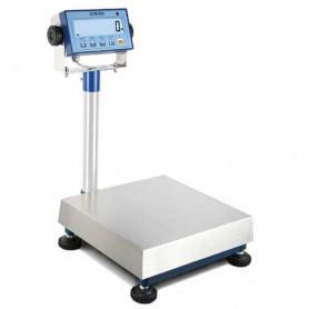 Plateforme avec colonne, portée de 6 kg à 600 kg, précision de 2 g à 200 g