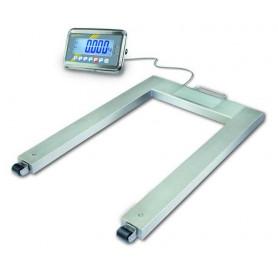 Pèse-palettes, portée max. de 600 kg à 1500 kg, précision de 200 g à 500 g