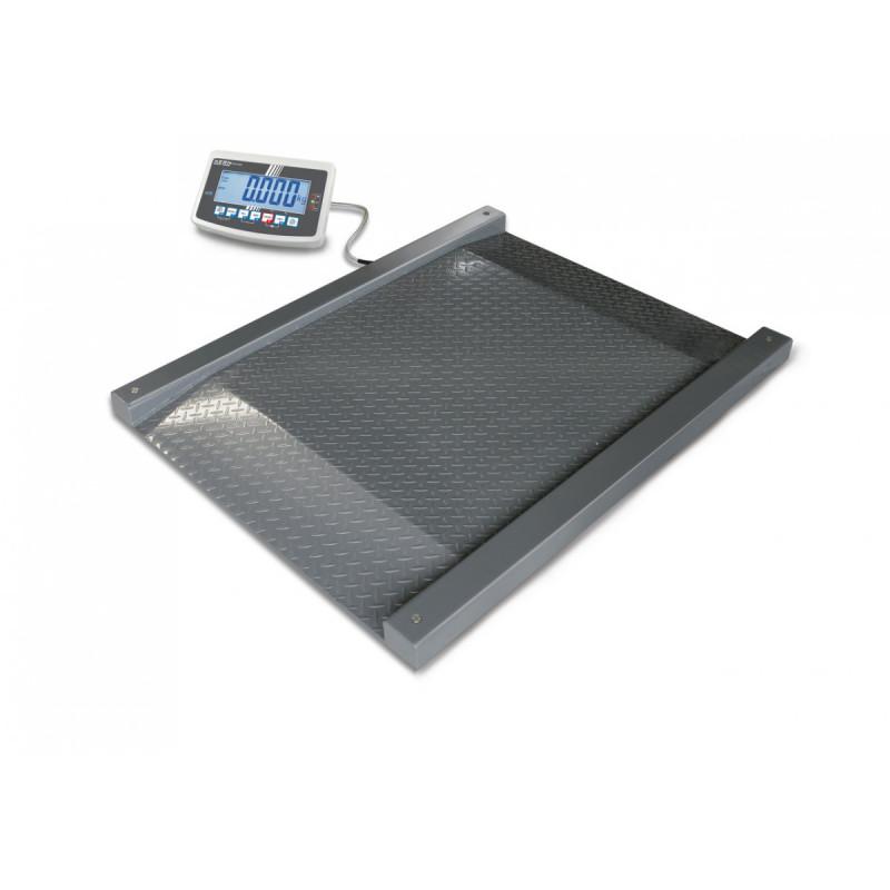 Balance au sol, portée max. de 600 kg à 1500 kg, précision de 200 g à 500 g