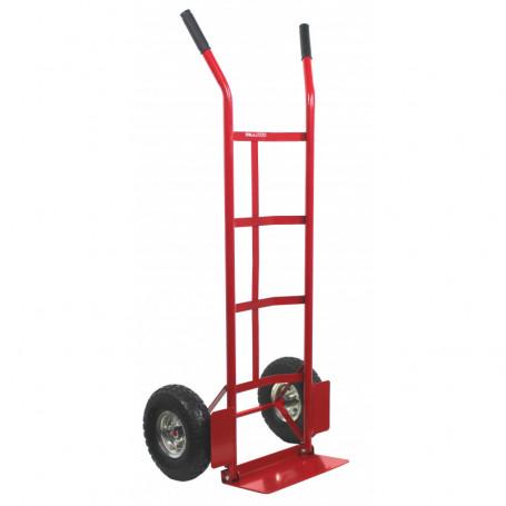 Diable standard avec pelle rabattable, charge 250 kg
