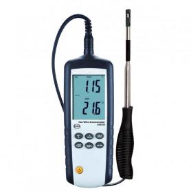 Thermo-anémomètre à fil chaud + logiciel