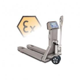 Transpalette peseur, portée500 kg à 2000 kg, précision0.2 kg à 1 kg