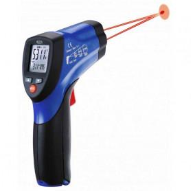 Thermomètre infrarouge à double visée laser, mesure de -50° à +650°C