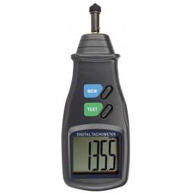 Tachymètre avec contact, mesure de 5 à 20 000 tr/min