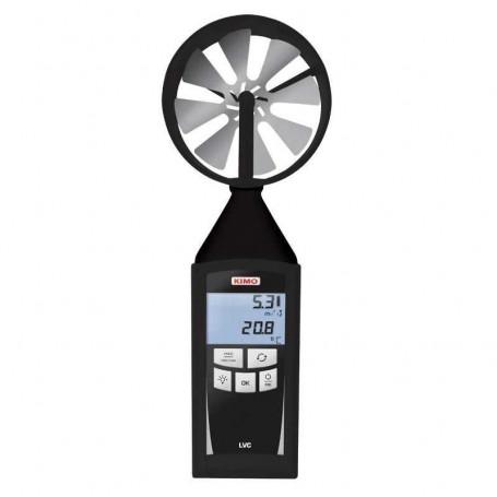 Thermo-anémomètre à hélice vitesse jusqu'à 35 m/s